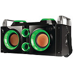 QFX Green Rechargeable Party PA Bluetooth Boombox
