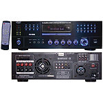 Pyle Home 1000-Watt AM/FM Receiver with Built-in DVD