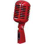 Pyle Red Retro Dynamic Vocal Microphone
