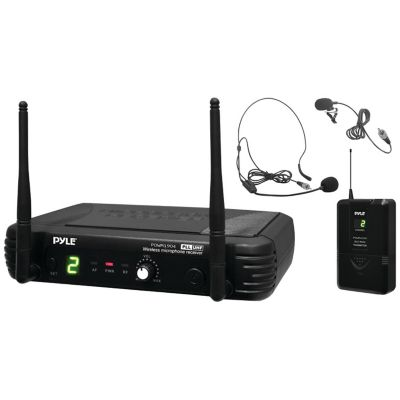 Pyle Pro UHF Wireless Transmitter Microphone System