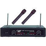 Pyle Pro Dual UHF Wireless Microphone System