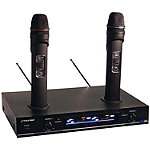 Pyle Pro Dual VHF Rechargeable Wireless Microphone System