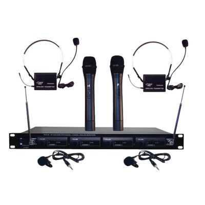 Pyle Pro Wireless Rack Mount Microphone System