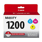Canon PGI-1200 CMY 3-Pack Color Ink Cartridge Pack 39.99