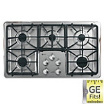 GE 36' Stainless Steel Profile™ Built-in Gas Cooktop
