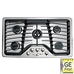 GE 36' Stainless Steel Profile™ Built-in Gas Cooktop 1549.99