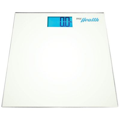 Pyle White Bluetooth Digital Weight Scale