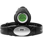 Pyle Black Heart Rate Monitor Wrist Watch 29.99