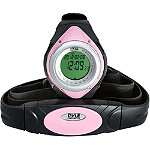 Pyle Pink Heart Rate Monitor Wrist Watch 29.99