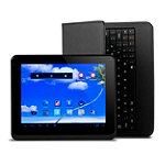 Proscan 8' 4GB Android 4.1 Jelly Bean Touchscreen Tablet  with Case and Keyboard No price available.