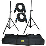 Pyle Pro Heavy-Duty Audio Speaker Stand and 12-Gauge Cables