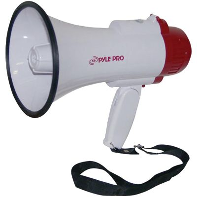 Pyle Pro Professional Megaphone with Siren and Voice Recorder