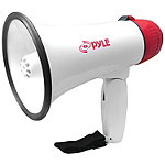 Pyle Pro Mini-Megaphone with Siren Alarm and LED Lights