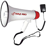 Pyle Pro Megaphone with Siren and Handheld Microphone