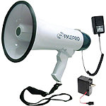 Pyle Pro Professional Dynamic Megaphone with Recording Function