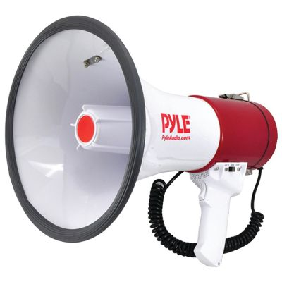 Pyle Pro Bluetooth Megaphone with Siren