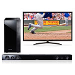 Samsung 60' Plasma HDTV with Soundbar and Wireless Subwoofer 1019.99