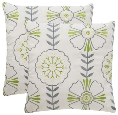 Safavieh Flower Power Indoor/Outdoor Pillows Set of 2