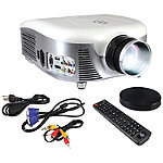 Pyle Home 1080p 2000-Lumen Widescreen Digital Multimedia LED Projector