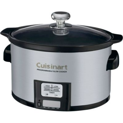 Cuisinart 3.5-Quart Programmable Stainless Steel Slow Cooker