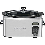 Cuisinart 6.5-Quart Programmable Stainless Steel Slow Cooker 99.95