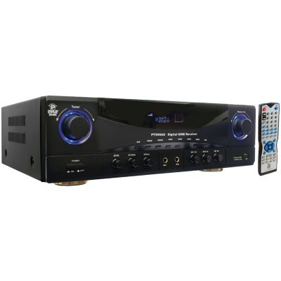 Pyle Home 350-Watt 5.1-Channel Amplifier Receiver with 3D Pass Through