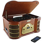 Pyle Home Bluetooth Vintage Style Turntable
