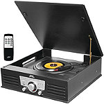 Pyle Pro Classic-Style Bluetooth Turntable with Vinyl to MP3 Recording