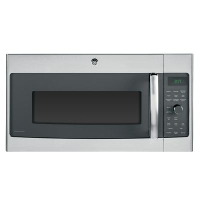 GE 1.7 Cu. Ft. 1000-Watt Stainless Steel Profile™ Over-the-Range Microwave Oven