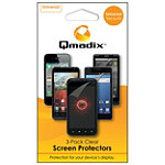 Qmadix 3-Pack Universal Screen Protector