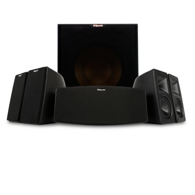 Klipsch 5-Channel Home Theater Speakers and 400-Watt 12