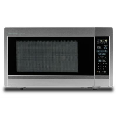 Sharp 1.8 Cu. Ft. 1,100-Watt Stainless Steel Countertop Microwave Oven