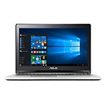 Asus 15.6' Flip Laptop with Intel® Core™ i3-4005U Processor, 6GB Memory, 500GB Hard Drive, Black