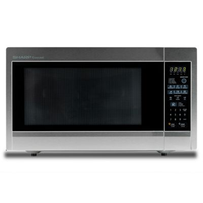 Sharp 2.2 Cu. Ft. 1,200-Watt Stainless Steel Countertop Microwave Oven