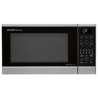 Sharp 0.9 Cu. Ft. 900-Watt Stainless Steel Countertop Microwave Oven