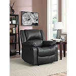 Lifestyle Solutions Black Parker Recliner