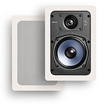 Polk Audio 5-1/4' 2-Way In-Wall Rectangular Loudspeaker (2 in Box; Price for Each) 124.99