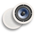 Polk Audio 6.5' Round Paintable 2-Way In-Wall / Ceiling Loudspeaker  (2 in Box; Price for Each) 124.99