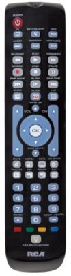 RCA 6-Device Green Backlit Universal Remote
