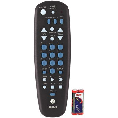 RCA 3-Device Universal Partially Backlit Remote