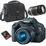 Canon D-SLR Camera with 2 Lenses, Bag and 8GB SD Card 960.98