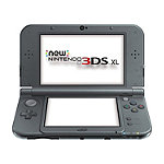 Nintendo Black New 3DS XL System 199.99
