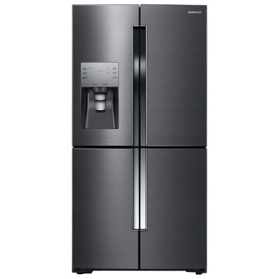 Samsung 23 Cu. Ft. Black Stainless Steel Counter-Depth 4-Door Flex™ French Door Refrigerator