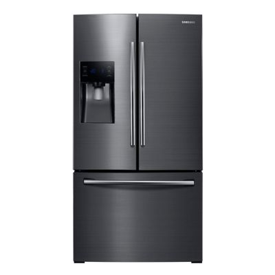 Samsung 25 Cu. Ft. Black Stainless Steel French Door Refrigerator