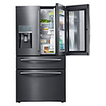 Samsung 28 Cu. Ft. Black Stainless Steel French Door Refrigerator