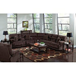 Jackson-Catnapper Carmen Reclining Sectional Group with Rocker Recliner