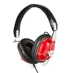 Panasonic Red Retro Style Headphones 9.95