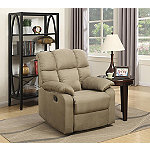 Lifestyle Solutions Taupe Orson Recliner