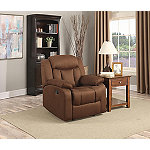 Lifestyle Solutions Chocolate Porter Recliner