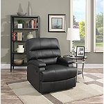 Lifestyle Solutions Black Rory Recliner